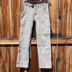 Prana breathe outdoor hiking pants sz 28 khaki